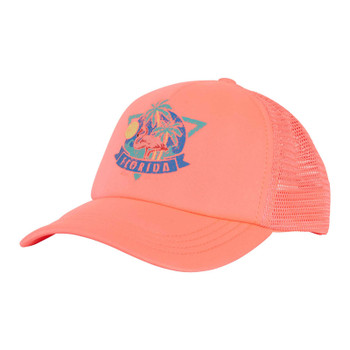 Billabong Across Waves Trucker Hat -Coral Shine
