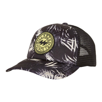 Billabong Heritage Mashup Trucker - Black Haze