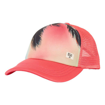 Billabong Take Me There Trucker Hat - Hibiscus