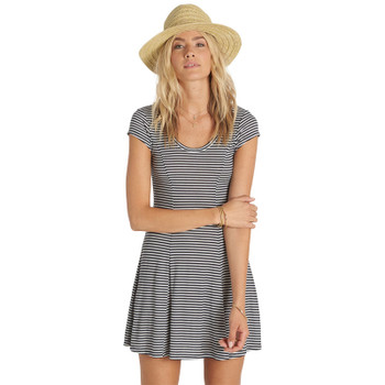 Billabong Same Love Dress - Black / White