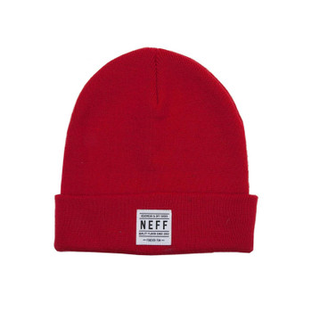 Neff Lawrence Beanie - Red
