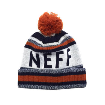 Neff Champion Beanie - Navy / Orange