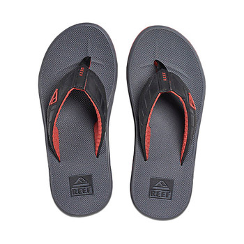 Reef Phantom Sandal - Charcoal / Red