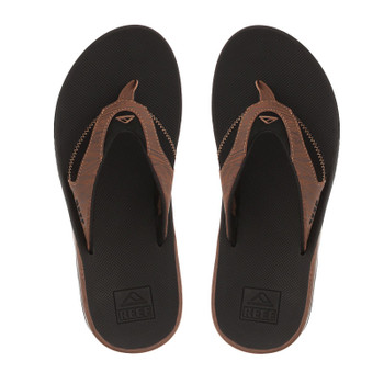 Reef Fanning Prints Sandal - Black / Wood