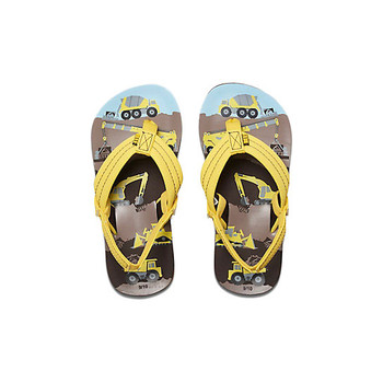Reef Ahi Sandal - Yellow Trucks