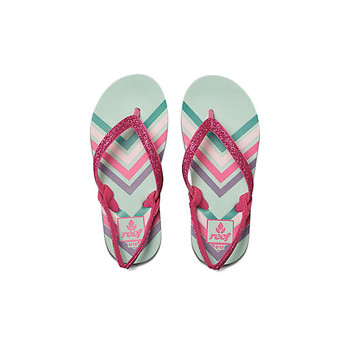 Reef Little Stargazer Prints Sandal - Mint Chevron