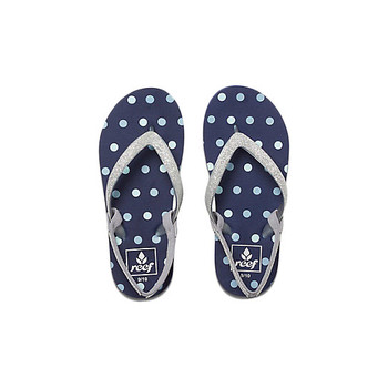 Reef Little Stargazer Prints Sandal - Blue Dots