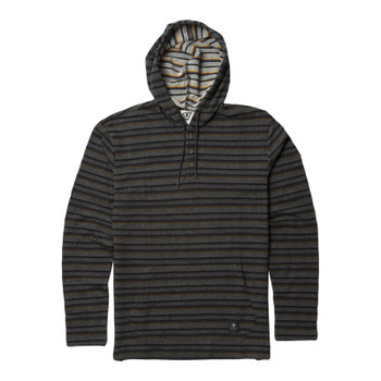 Vissla The Box Hooded Henley - Black