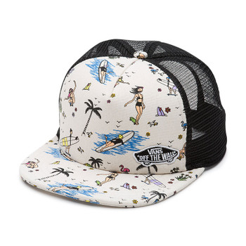 Vans Beach Bound Trucker Hat - Summer Stories