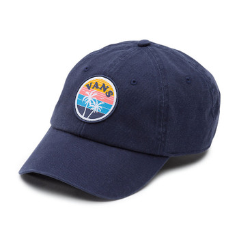 Vans Court Side Baseball Cap - Crown Blue