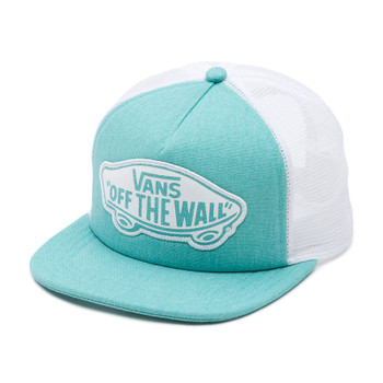 Vans Beach Girl Trucker Hat - Pool Blue
