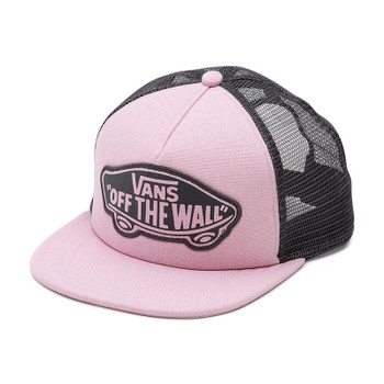 Vans Beach Girl Trucker Hat - Pink Lady / Phantom