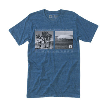 HippyTree Walkabout Tee - Heather Navy