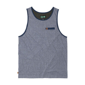 HippyTree Granular Tank - Heather Blue