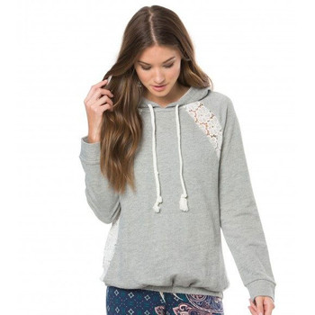 O'Neill Avon Hooded Pullover - Heather Grey