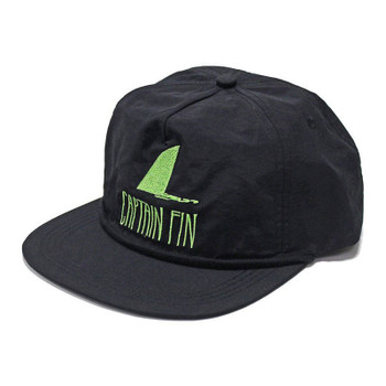 Captain Fin Shark Fin Hat - Black / Green