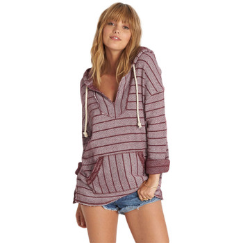 Billabong Simply So Hoodie - Mystic Maroon