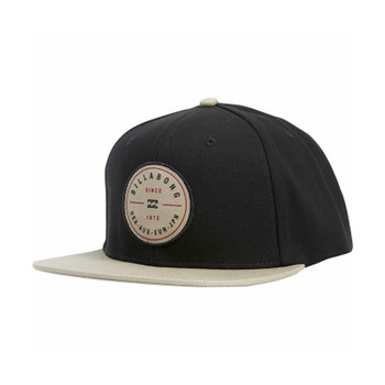 Billabong Rotor Snapback Hat - Black / Tan