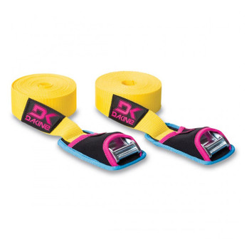 Dakine Baja Tie Down Straps - Yellow