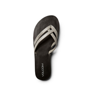 Volcom Crosstown Sandal - Light Grey