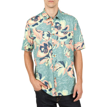 Volcom Cubano Shirt - Sea Blue