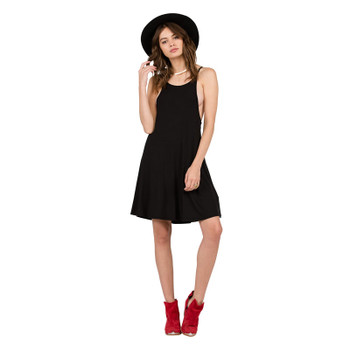 Volcom Lived In Tank Dress - Black