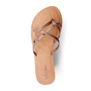 Volcom New School Sandal - Brown