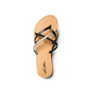 Volcom New School Sandal - Black Combo