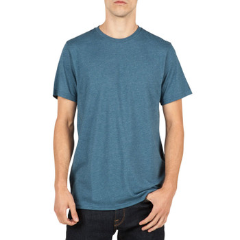 Volcom Heather Solid Tee - Smokey Blue