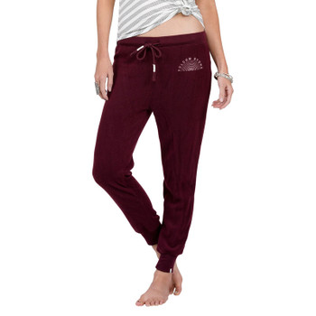 Volcom Lived In Fleece Pants - Merlot