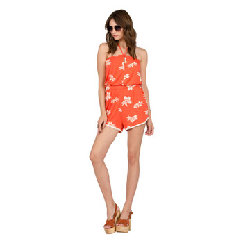 Volcom Pine For Me Romper - Pistol Punch