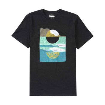 Billabong Gallery Moonrise Tee - Black