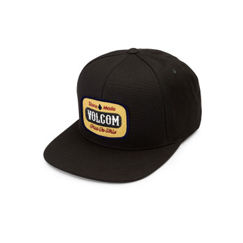 Volcom Cresticle Hat - Black On Black