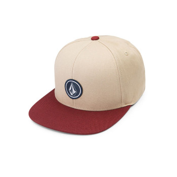 Volcom Quarter Twill Hat - Dark Clay