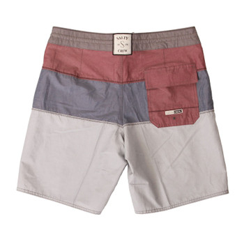 Salty Crew Fathom Trunk - Burgundy - 2
