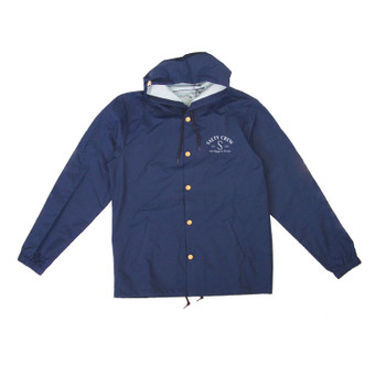 Salty Crew Buoy Snap Jacket - Navy
