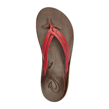 Olukai U'I Sandals - Ohia Red / Dark Java