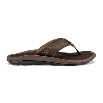 Olukai Kipi Sandals - Dark Wood / Dark Wood - 2