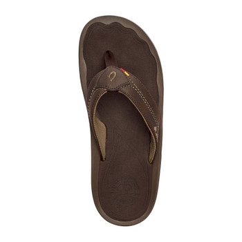 Olukai Kipi Sandals - Dark Wood / Dark Wood