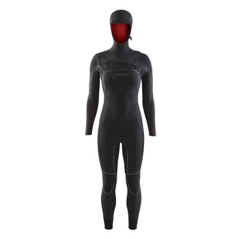 Patagonia Women's R4 Yulex Front Zip Hooded Wetsuit