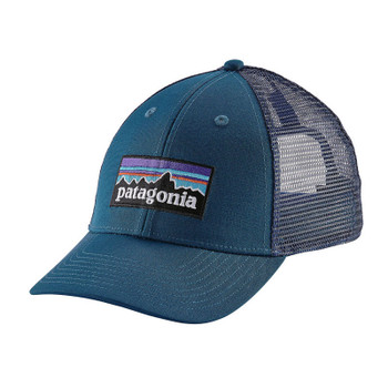 Patagonia P-6 LoPro Trucker Hat - Big Sur Blue