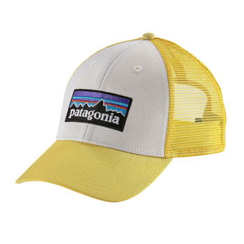 Patagonia P-6 LoPro Trucker Hat - White Yoke Yellow
