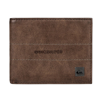 Quiksilver Anthro Wallet - Chocolate