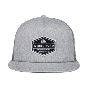 Quiksilver Marbleson Trucker Hat - Light Grey Heather - 2