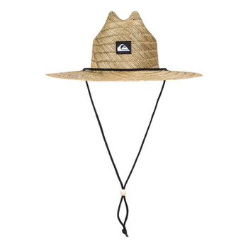 Quiksilver Pierside Slim Lifeguard Hat - Natural