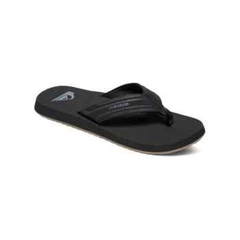 Quiksilver Monkey Wrench Sandals - Black / Black / Brown