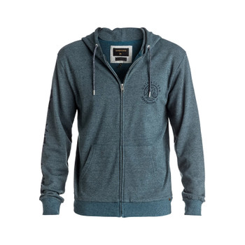 Quiksilver Jungle Forest Zip Hoodie - Moroccan Blue