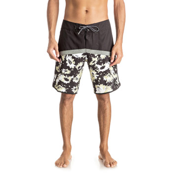 "Quiksilver Crypt Scallop 20"" Boardshorts - Black - 2"