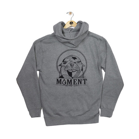 Moment Sea Lion Zip Hoodie - Back