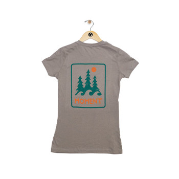 Moment Women's Trees And Waves Tee - Back